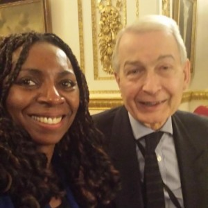 Yvonne Hall & Frank Field MP