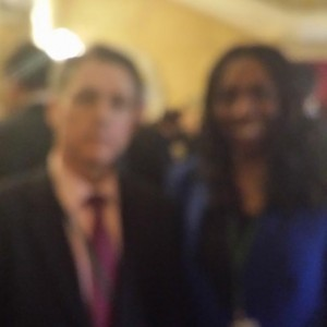 Yvonne and the Former Anti Slavery Commissioner Kevin Hyland OBE