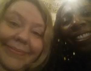 Selfie of Diane Martin CBE & Yvonne