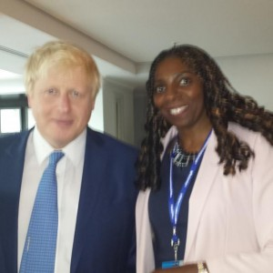 Yvonne & London Mayor Boris Johnson