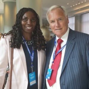 Yvonne & Lord Taylor at the ICC