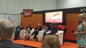 Yvonne as Modern Slavery Panellist at the Summit to end Sexual Violence in Conflict 2014