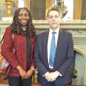 Yvonne & the Former Independent Anti-Slavery Commissioner Kevin Hyland OBE