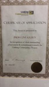 Linking Communities Certificate
