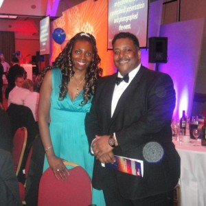 Yvonne & Nigel Guy (Director of Manningham Housing) at the Bradford Chamber Annual Dinner 2010