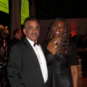 Yvonne Hall & Omar Khan