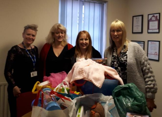 Donations from Eastgate Job Centre, Leeds