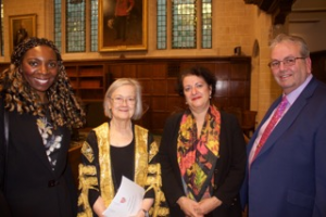 Lady Hale and Her Honour Judge Taylor with PCS directors