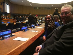 Directors in New York at the United Nations for Conference to Eradicate Slavery by 2015