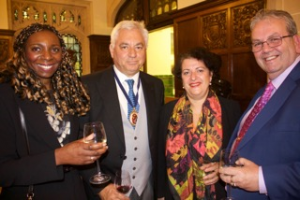 Sir Nigel Knowles & Her Honour Judge Taylor at High Sheriffs Award Ceremony with Yvonne & Gerard